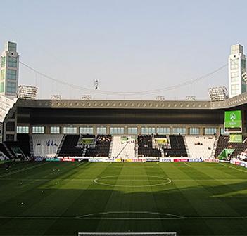 Jassim Bin Hamad Stadium in Doha, Qatar