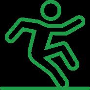 Slip resistance testing icon